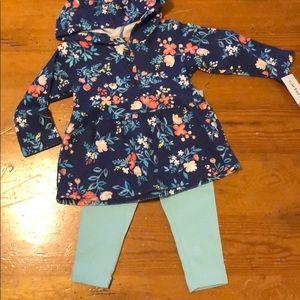 Carter's Matching floral Set
